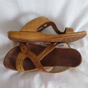Keen Honey Brown Slide Sandal Women's 7